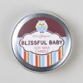 184 Units of Candle Soy Wax 1oz Tin Blissful Baby Owl - Candles & Accessories