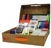 6 Units of Geddes Junior High/High School Supply Kit - School Supply Kits