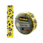 72 Units of Scotch Expressions Flowers Washi Tape - Tape