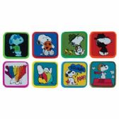 384 Units of Peanuts Character Eraser - Erasers