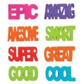 288 Units of Positive Attitude Erasers - Erasers