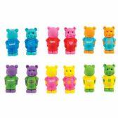 144 Units of Fun Pun Bear Eraser - Erasers