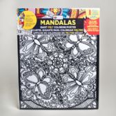 48 Units of Coloring Poster 16 X 20 Felt Mandalas 6 Assorted - Poster & Foam Boards