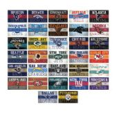 300 Units of NFL Vintage Stickers