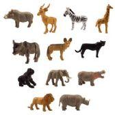200 Units of Pocket Safari Figure - Animals & Reptiles