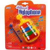 48 Units of MY BAND XYLOPHONE IN BLISTER CARD, 2 ASSRT - Musical