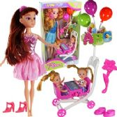 12 Units of 13 PIECE SWING TIME DOLLS AND STROLLER. - Dolls