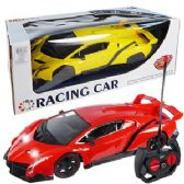 12 Units of REMOTE CONTROL RACING CARS W/LIGHTS.