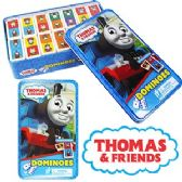 8 Units of THOMAS AND FRIENDS DOMONOES IN A TIN. - Dominoes & Chess
