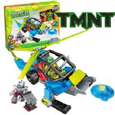 8 Units of 81 PIECE TMNT MEGA BLOCKS TURTLE CHOPPER.