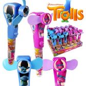 24 Units of TROLLS CANDY FANS