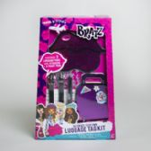 72 Units of Bratz Luggage Tag Kit Decorate Your Own Litho Boxed