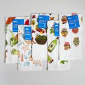 72 Units of Kitchen Towel 15x25 Prints 6 Assorted