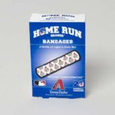 72 Units of Bandages 20ct Box Home Run Brands -arizona Diamondbacks [14019] - First Aid / Band Aids