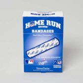 72 Units of Bandages 20ct Box Home Run Brands -la Dodgers - First Aid / Band Aids