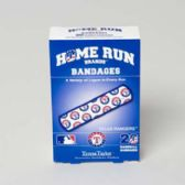 72 Units of Bandages 20ct Box Home Run Brands -texas Rangers [14022]  - First Aid / Band Aids