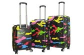 2 Units of Viaggi Pop Camo Hardside Spinner 3pc Set - Travel & Luggage Items