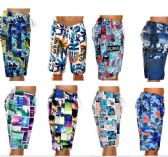 48 Units of MEN'S FASHION PRINTED BATHING SUIT