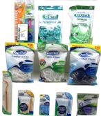 100 Units of Dentek and Gum Assorted Products - Toothbrushes and Toothpaste