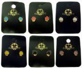 36 Units of Cupcake post earrings - Earrings