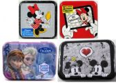 100 Units of Disney Cotton Swabs and Rounds Tins
