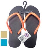 24 Units of LADIES FLIP FLOP ASSORTED SIZES 5-10 & COLORS