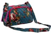 "12 Units of ""Ori-Ori"" Flower Quilted Purse-Rose - Leather Purses and Handbags"