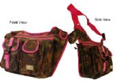 "12 Units of ""E-Z TOTE"" Expandable Hunting Shoulder Bag-Pink"
