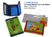 60 Units of Licensed Pooh Wallet - Leather Purses and Handbags