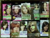 30 Units of Hair Color, Name Brand - Assorted
