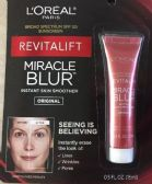 25 Units of L'Oreal Revitalift Miracle Blur, 0.5oz - Assorted Cosmetics