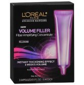 25 Units of L'Oreal Volume Filler Thickening Ampoulles, .5 oz, 3 pack - Assorted Cosmetics