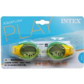 48 Units of JUNIOR GOGGLES ON BLISTER CARD - Summer Toys