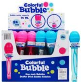 96 Units of Bubble Microphone - Bubbles