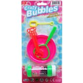 72 Units of CRAZY BUBBLES PLAY SET ON BLISTER CARD - Bubbles
