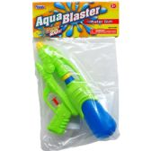 "72 Units of 9.25"" WATER GUN IN POLY BAG W/ HEADER, 3 ASST CLRS"