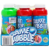 "144 Units of 5.5"" 8 OZ BUBBLE SOLUTION IN 6PC COVERED PDQ"