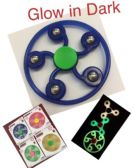 20 Units of Fidget Spinner-- New Style with Glow in Dark
