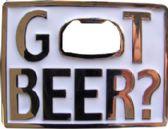 24 Units of Got Beer Belt Buckle - Belt Buckles
