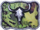 24 Units of Bull Belt Buckle - Belt Buckles