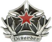24 Units of Cross Disorder Belt Buckle - Belt Buckles
