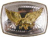 24 Units of Golden Flying Eagle Belt Buckle - Belt Buckles