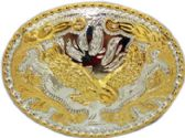 12 Units of Eagle Belt Buckle - Belt Buckles