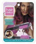 50 Units of Scunci Hair Chalk, 5ct