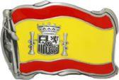 24 Units of Spanish Flag Belt Buckle - Belt Buckles