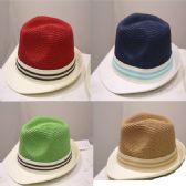 24 Units of FEDORA HAT 821 HIGH QUALITY MIX COLOR