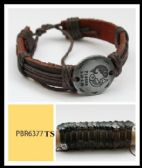 60 Units of Silver color Zodiac Bracelet round shape