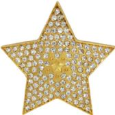 24 Units of Girly Star Belt Buckle - Belt Buckles