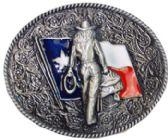 24 Units of Texas Cowgirl Belt Buckle - Belt Buckles