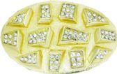 24 Units of Golden Designer Belt Buckle